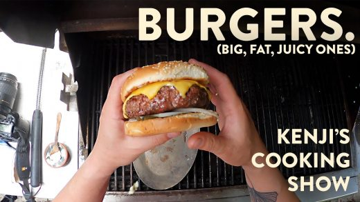 How to Grill a Big, Fat, Juicy Burger   Kenji's Cooking Show