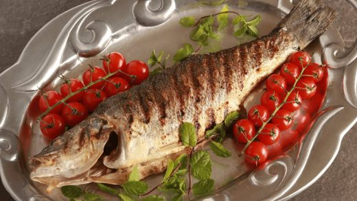 How to Grill and Eat a Whole Fish (Branzino)