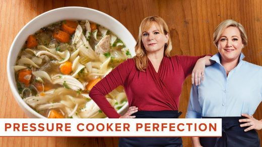 How to Make Farmhouse Chicken Noodle Soup and Pot Roast in your Pressure Cooker
