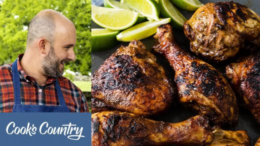 How to Make Grilled Jerk Chicken and Smoked Chicken Wings