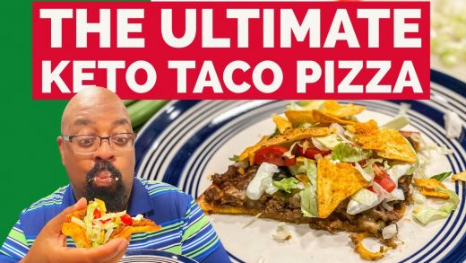 How to Make the ULTIMATE Keto Taco Pizza!