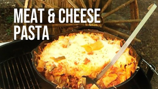 How to grill Pasta with Meat & Cheese | Recipe