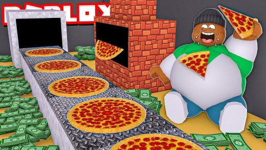 I ATE 1,000,000 PIZZAS & Became RICH!! (Roblox)
