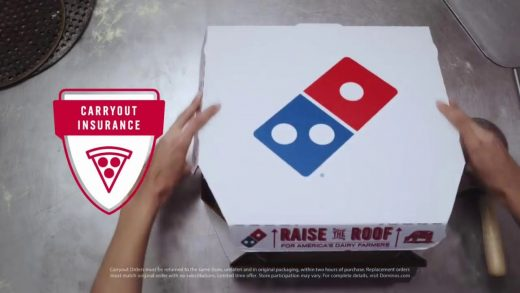 I Love this Domino's Pizza Commercial, Tree Falls on Dudes Car!