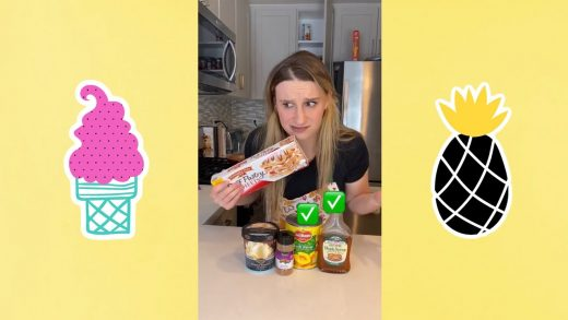 I MADE DESSERT OUT OF RANDOM INGREDIENTS! (watch for it) #shorts