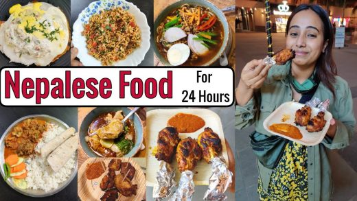 I only ate NEPALESE FOOD for 24 Hours | Food Challenge