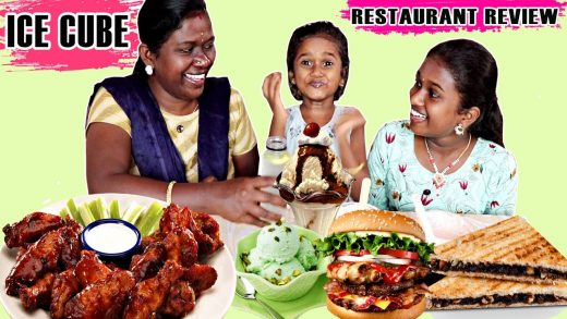 ICE CUBE RESTRO CAFE,ERODE / FOOD REVIEW  IN TAMIL FOODIES DIVYA , ANUSHYA AND KEERTHANA || CHICKEN
