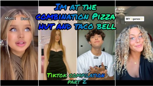 IM AT THE COMBINATION PIZZA HUT AND TACO BELL -Tiktok Compilation Part 2