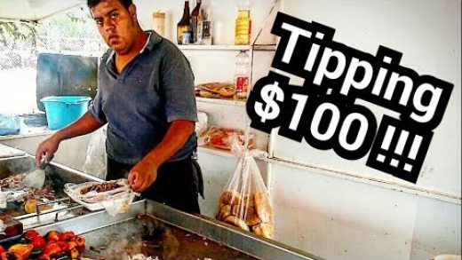 INSANE Mexican Street Food – Taco & Torta HEAVEN In MEXICO - $100 dollar TIP At The End!!