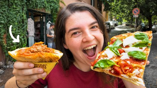 Italian Street Food Tour: Top 10 Dishes To Try In ROME!