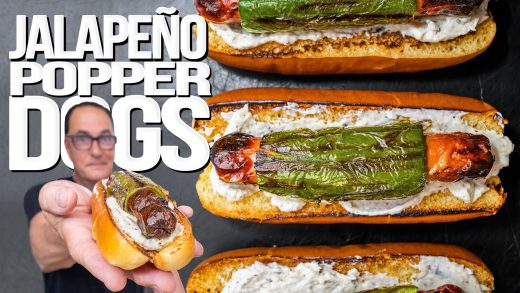 JALAPEÑO POPPER DOGS (MY NEW FAVORITE HOT DOG?) | SAM THE COOKING GUY