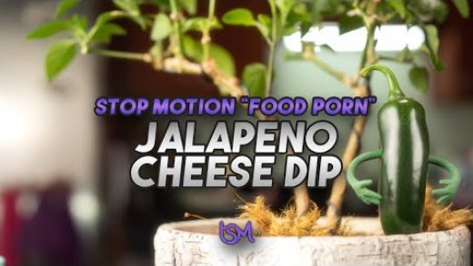 Jalapeno Cheese Dip | Stop Motion Food Porn