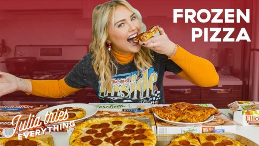 Julia Tries 23 Of The Most Popular Frozen Pizzas At The Grocery Store | Delish