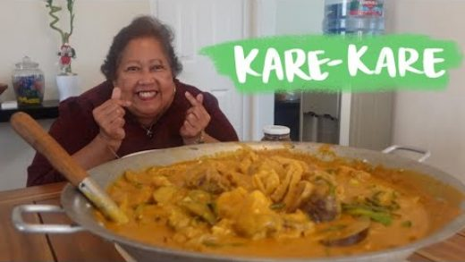 Kare-Kare Recipe | Filipino Oxtail Stew in Peanut Sauce | Home Cooking (& Talking) With Mama LuLu