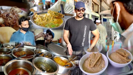 LABOURERS STREET FOOD TOUR in Lahore - Cheapest Dhaba Experience in Pakistan