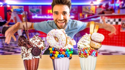 LIVING on WORLD'S BEST DESSERT for 24 HOURS (You NEED To Eat These)!