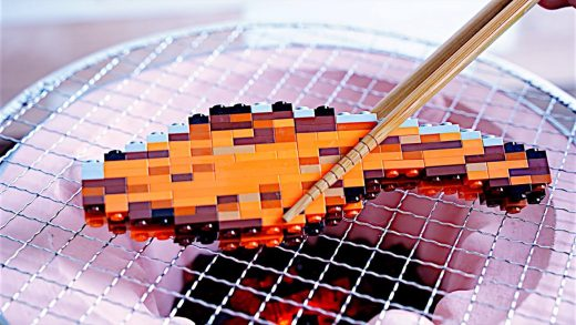Lego Japanese Breakfast - Lego In Real Life 11 / Stop Motion Cooking & ASMR