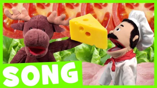 Let's Make a Sandwich Song | Simple Food Song for Kids