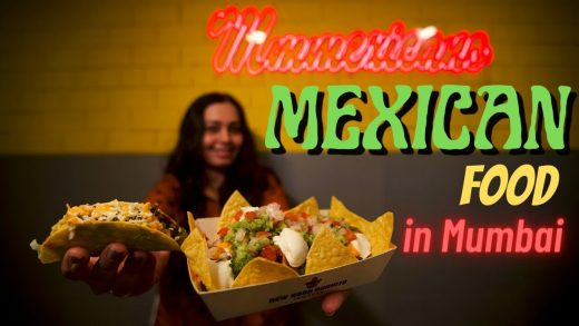 MEXICAN FOOD in Mumbai | Cheesy NACHOS, Crunchy TACO, Mexican PIZZA at this Chowpatty outlet