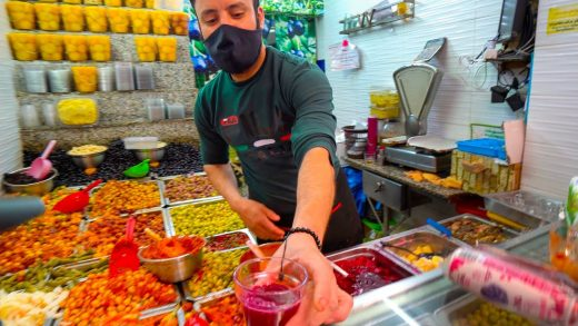 MOROCCAN STREET FOOD! First Day in Morocco 2021 - ULTIMATE Street Food Tour in Rabat!!