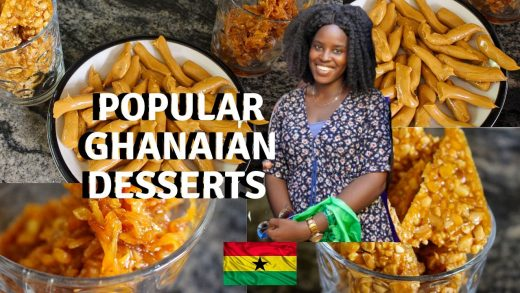 MUST TRY GHANAIAN DESSERTS | EASY TO MAKE GHANA FOOD | AFRICAN FOOD RECIPES | LIFE IN GHANA