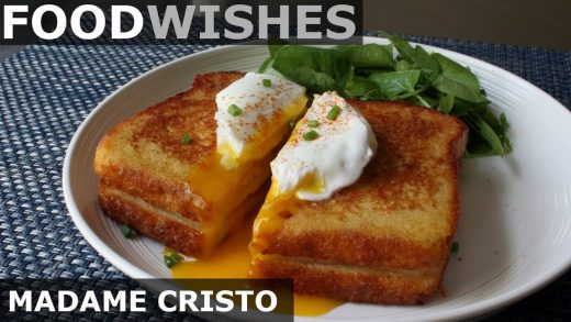 Madame Cristo - Grilled Ham & Cheese - Food Wishes