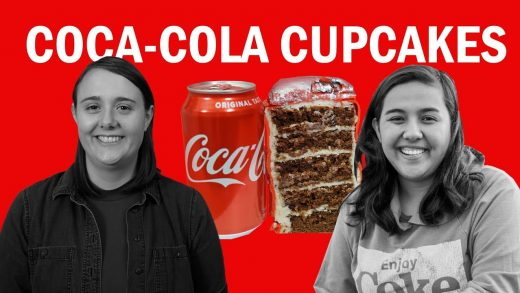 Making a Coca Cola Cupcake for ELLE MILLS | FoodTube