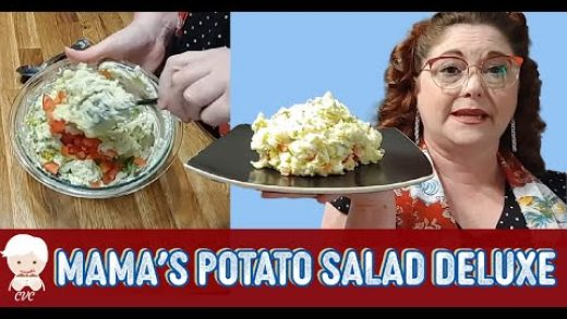 Mama's Deluxe Potato Salad for 2, Georgia Southern Cooking