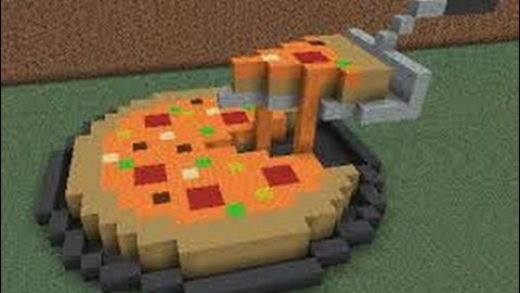 Minecraft: Pizza in Only One Command!