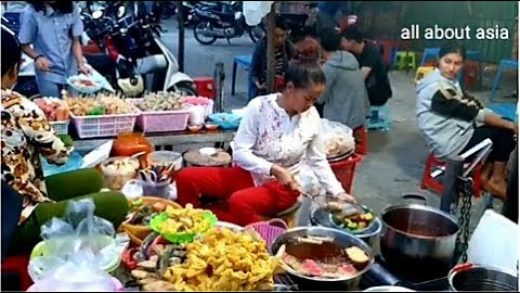 Mixed Street Food In Phnom Penh 2019 - Amazing Foods Video - Cambodian Village Food