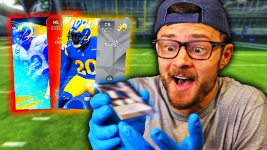 My subscribers sent me the craziest cards to build my lineup with and...