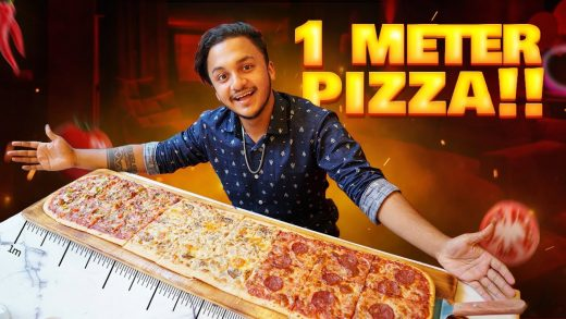 One Meter Pizza   Pizza এতো বড় কিভাবে   Largest Pizza In BD   Ahsan Official