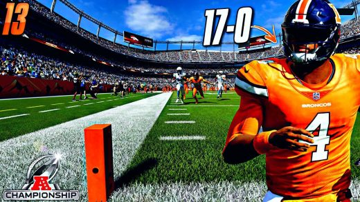 Our Huge Rematch vs the 17-0 Broncos in the AFC Championship! SUB FRANCHISE #13