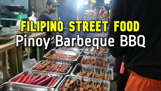 PHILIPPINES STREET FOOD at NIGHT | Cubao Quezon City FILIPINO BARBECUE BBQ