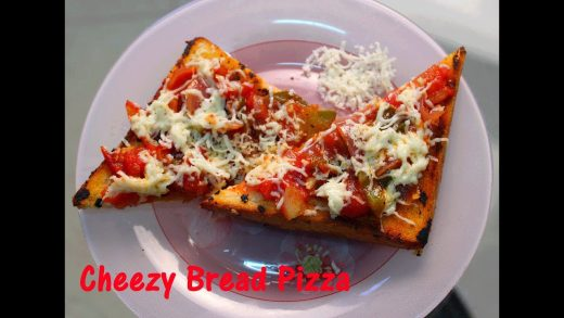 Pan Fried Bread Pizza (Easy to Cook) - Myspoon