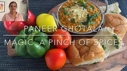 Paneer Ghotala|Veg Cheese Paneer Ghotala|Surat Famous Street Food  –Magic: a Pinch of Spices