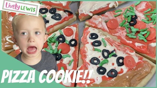 Pizza Cookie Decorating!