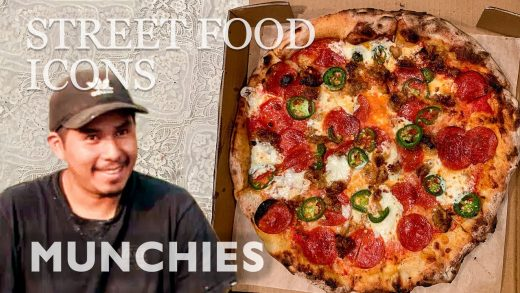 Pizza From A Pickup Truck | Street Food Icons