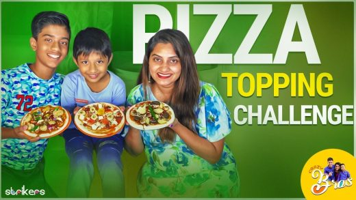 Pizza Topping Challenge    Crazy Bros    Strikers