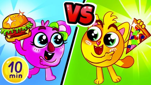 Pizza vs Hamburger Song | + More Best Kids Songs by Baby Zoo