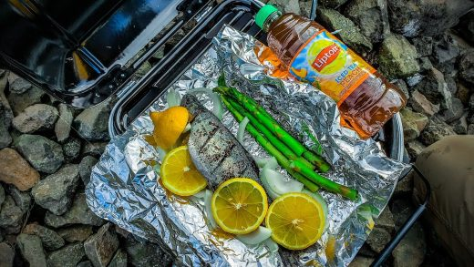 Rainbow Trout (Catch, Clean, Cook) with a Portable Grill