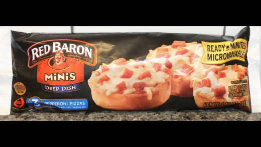 Red Baron Minis Deep Dish: Pepperoni Pizzas Review