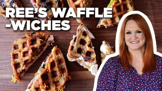 """Ree Drummond Makes 4 Types of """"Wafflewich"""" Waffle Sandwiches   The Pioneer Woman   Food Network"""