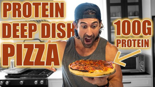 Remington James Anabolic Deep Dish Pizza | Low Calorie High Protein Pizza