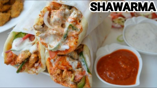 SHAWARMA Step by Step Recipe by (YES I CAN COOK)