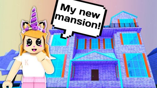 SPENDING 3000 ROBUX ON THE BIGGEST MANSION // Roblox Work at a Pizza Place
