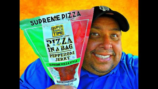 SUPER SNACK TIME™ Pizza In A Bag REVIEW!!