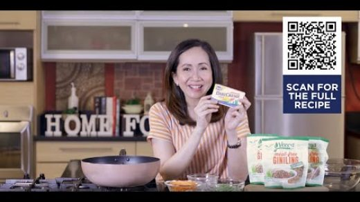 Sesame Ginger Meat-free Giniling | Home Foodie Cooking Show