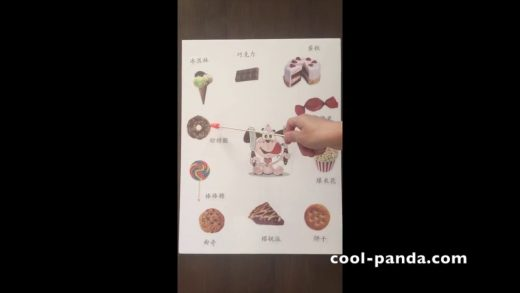 Simple Chinese Songs for Kids: Dessert Song   简单中文儿歌:点心