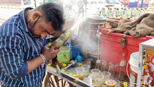 Sniper Soda | Most Epic Live Soda Opening Skill | Indian Street Food